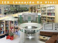 Fotocomposición con diversas estancias del IES Leonardo da Vinci de Puertollano